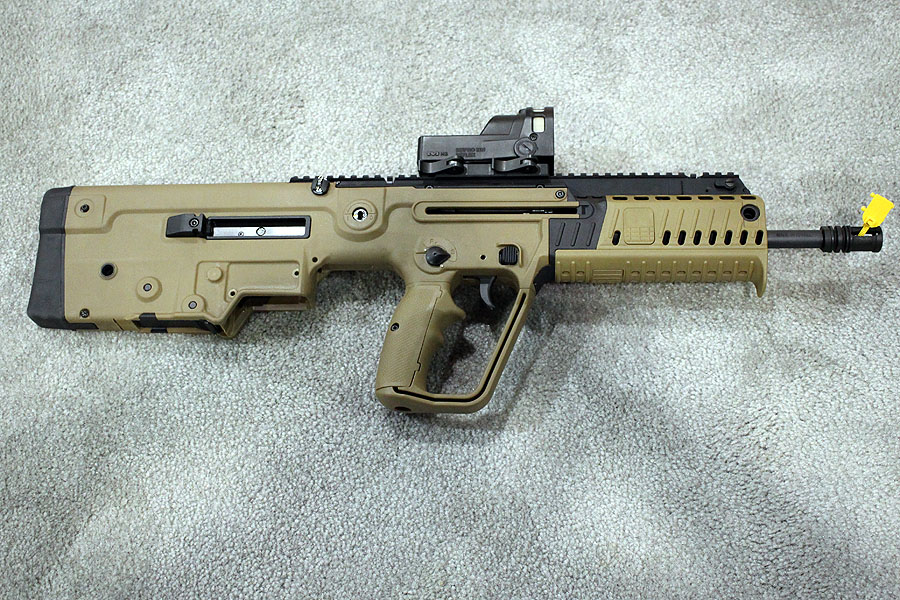 The X95, from the right side.