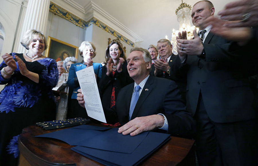 virginia concealed-carry reciprocity bill signed BOB BROWNRICHMOND TIMES-DISPATCH