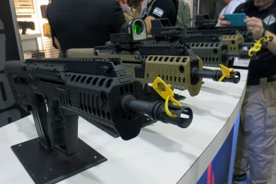 The new X95 will come in typical Tavor colors.