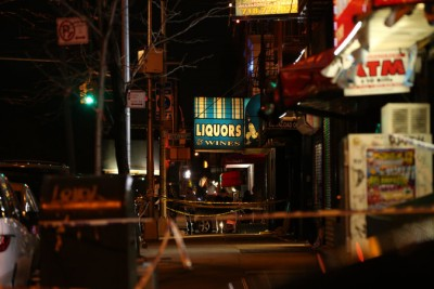 A stabbing in Queens this past week.  Check out the story via the New York Times.  (Photo: NY Times)