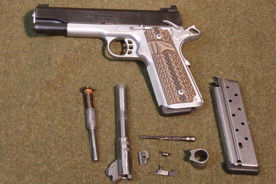Nighthawk Talon 38. Super with 9mm parts changed