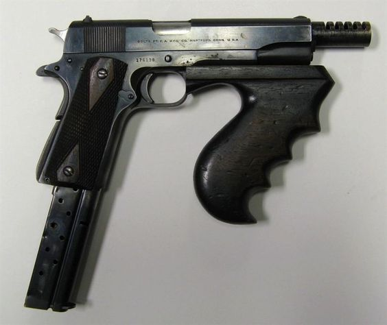 The Lebman Baby Machine Gun.