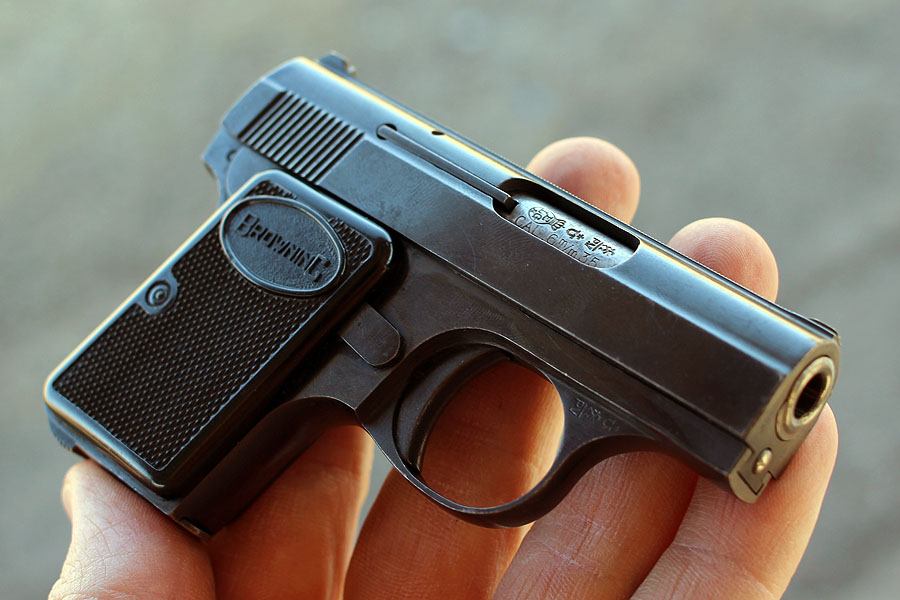 The .25 ACP Baby Browning.