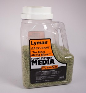 You can buy ready to go cleaning media for brass or you can use bulk stuff like crushed walnut shells or corn cobs.