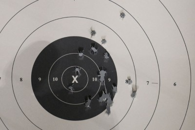 Slow fire accuracy a few getaways without semiauto.