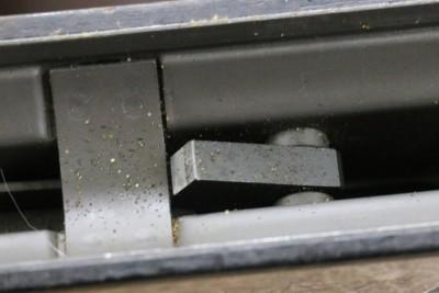 Spot-welded sheet metal construction.