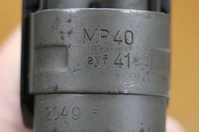 TMP40 – Model Ayf 41  – Manufacture Code Erma  2049 -   Serial Number