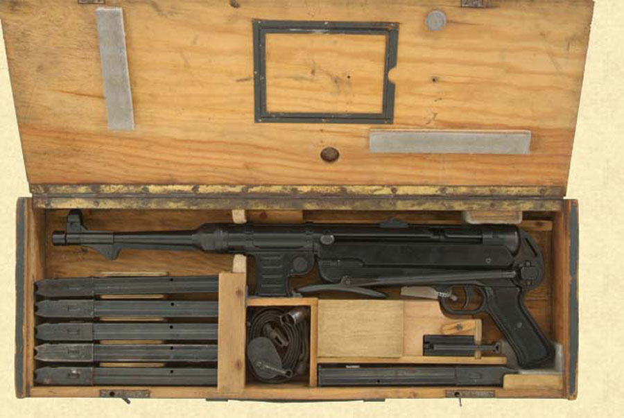 MP40 complete in shipping create Winter Trigger Magazine loader Sling cleaning gear.