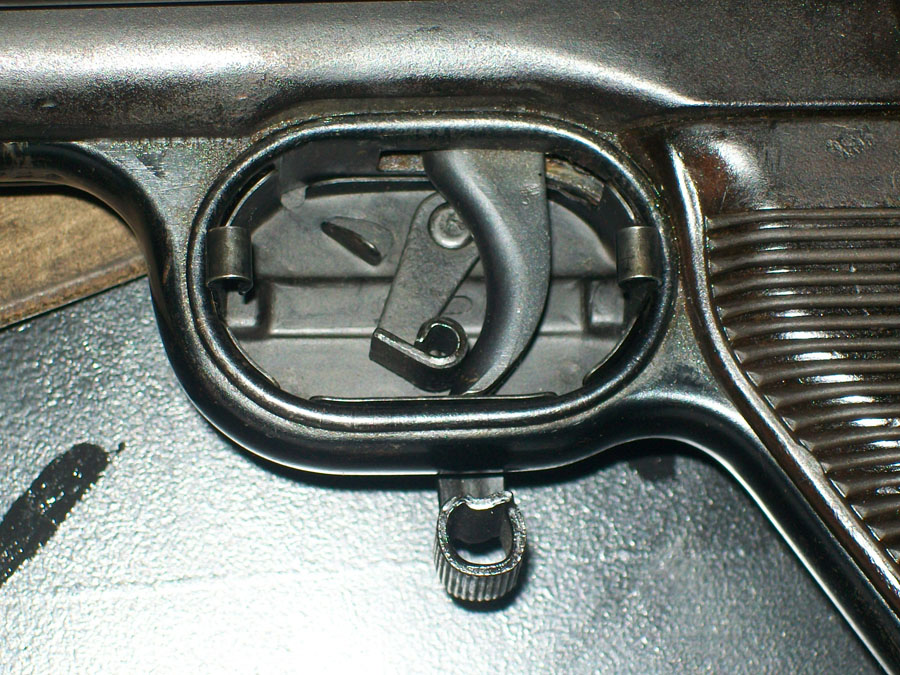 Winter Trigger Open Side attached to gun