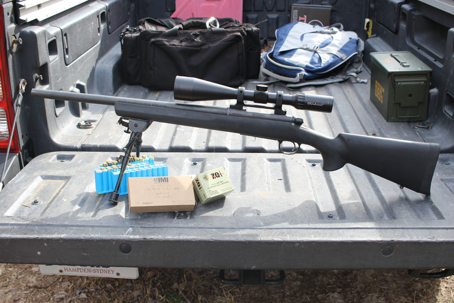 The SPS Tactical, as it came to me. It is a decent package gun for $650.