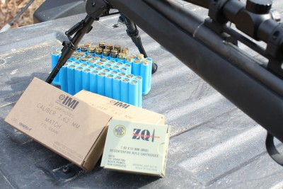 The two variants of .308 I used for the initial function testing both proved themselves nicely.