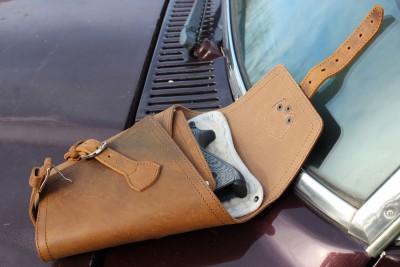 The Saddleback Leather Pistol Wrap.