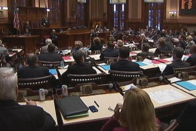 The Georgia Legislature. (Photo: WSBTV)