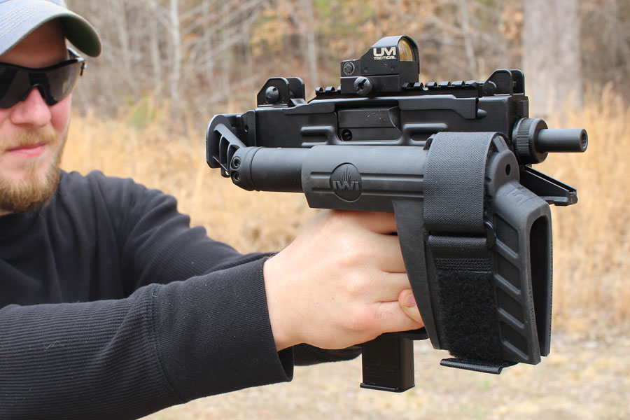 The IWI UZI Pro SB-THE 21st Century UZI - GunsAmerica Digest