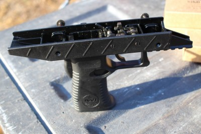 The polymer lower.