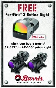 burris promo
