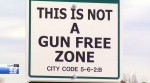 'Welcome to Greenleaf, Idaho. This is Not a Gun Free Zone'