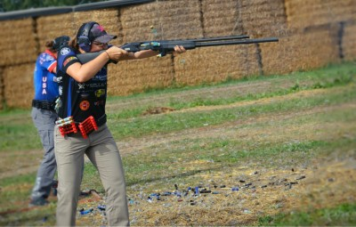 Lena Miculek is a two-time IPSC Shotgun Lady's World Champion. Her understanding of what it takes to run a shotgun fast allows her to adapt the mechanics of the process to fit her needs.