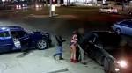 Underwear Gun Drawn in Detroit Gas Station Shooting