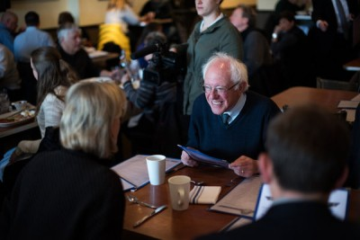 Bernie Sanders.  (Photo: NY Times)