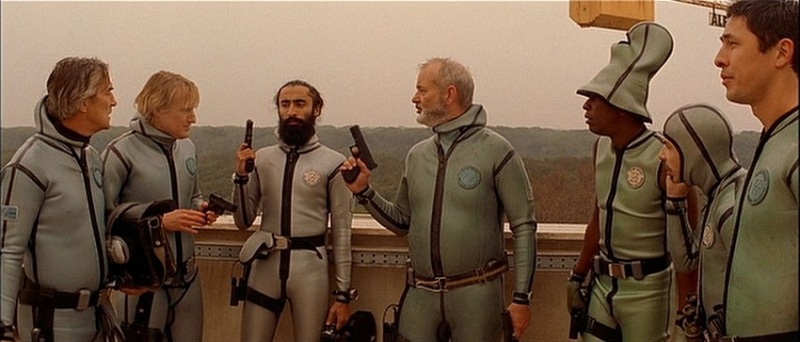 The Zissou team on a rescue mission.