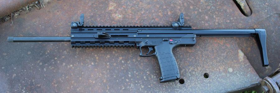 The CMR-30, extended, is still a svelte gun.