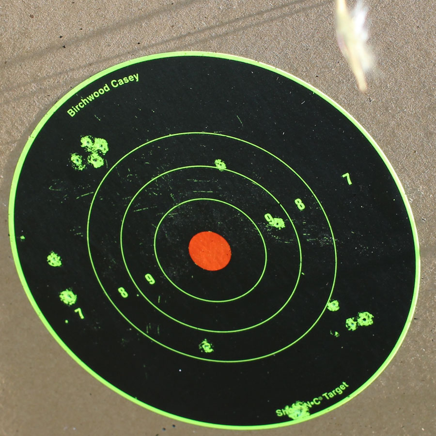 The CCI from 15 yards.