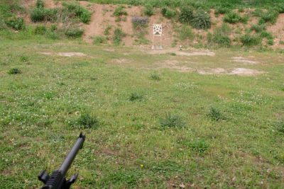 Accuracy testing the 22 long rifle at 25 yards