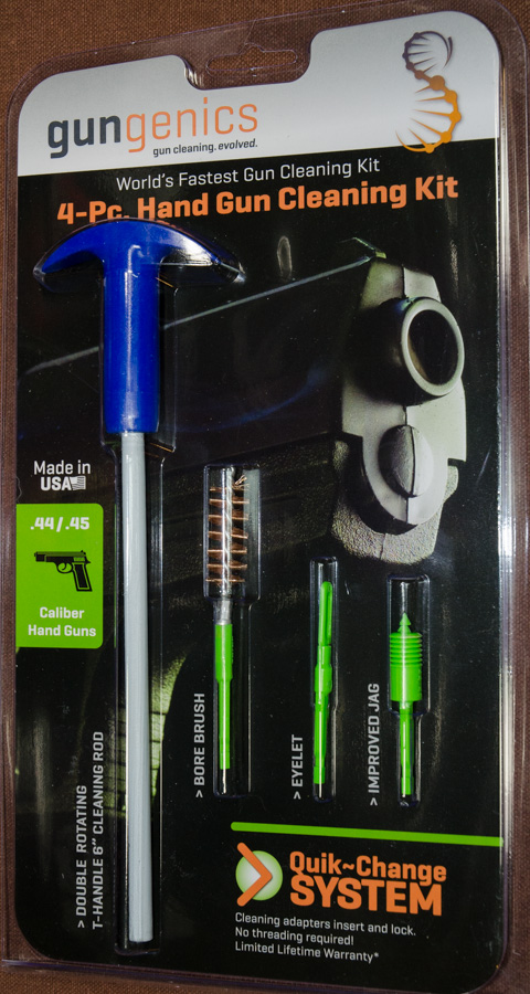 The full set includes the cleaning rod with quick-connect and 3 attachments.