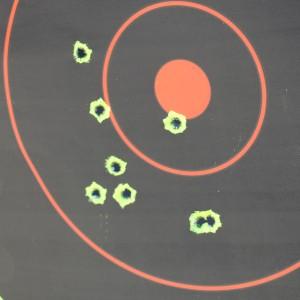 50 yard zeroing target