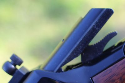 The bolt on this rimfire glides open and closed. When combined with the tame recoil, this makes for fast follow-up shots.