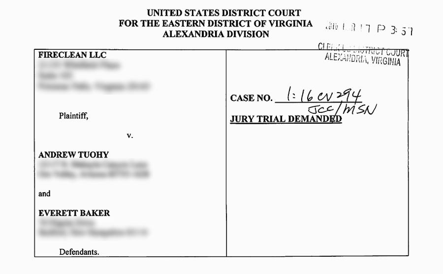 fireclean sues bloggers