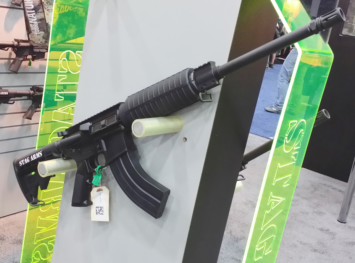 The new AR from Stag Arms in 7.62x39mm offers the familiar handling characteristics of an M4 Carbine-style rifle with the punch and power of the Soviet-designed cartridge.