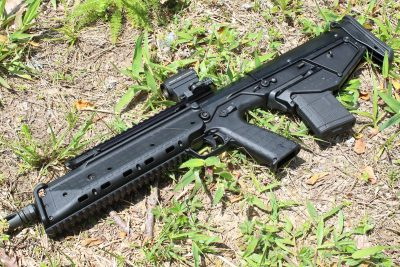 Slim, trim, compact.... The RDB is one of the smallest, lightest bullpups available.