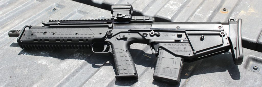 The gun is less alien looking that most of the other bullpups on the market.