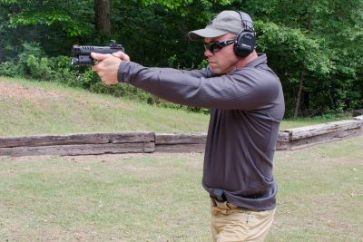 The author also had several instructors at his local range try out the Q5 Match to get their take on it. The pistol ran flawlessly and was quite accurate for them.