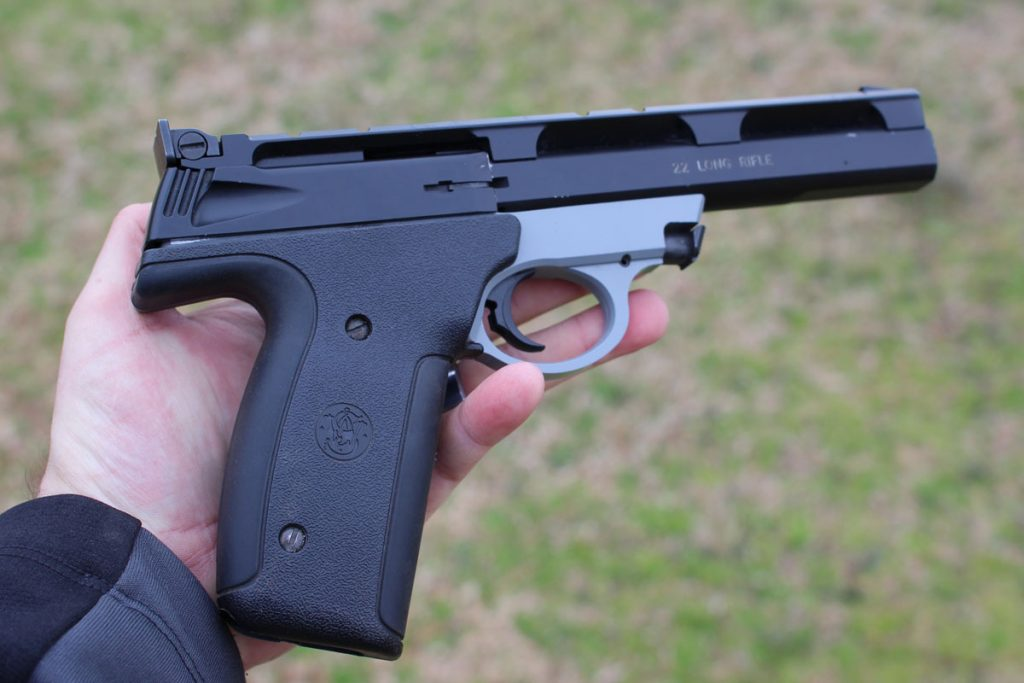 Smith and Wesson 22A-1.