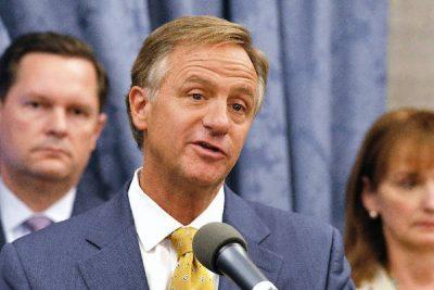 Gov. Bill Haslam. (Photo by Samuel M. Simpkins /The Tennessean via AP)