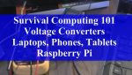 Prepping 101: Survival Computing on 12 Volts