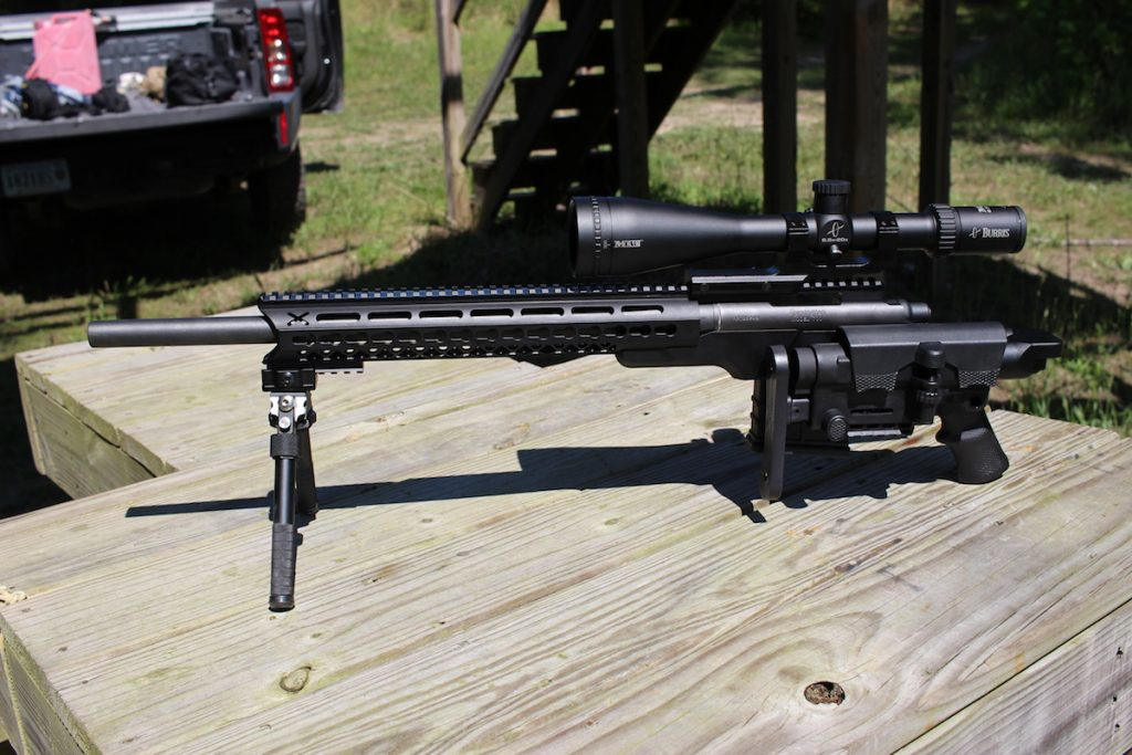 """The 20"""" barreled rifle is very compact measuring under 30"""" with the stock folded"""