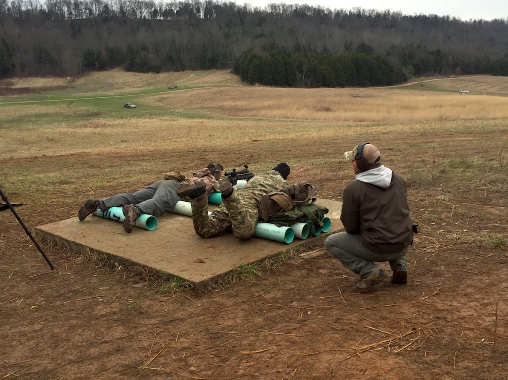 The author found the Mammoth Sniper Challenge, held at the Rockcastle Shooting Center and shot by two-man teams, to be a challenging test of his precision rifle skills.