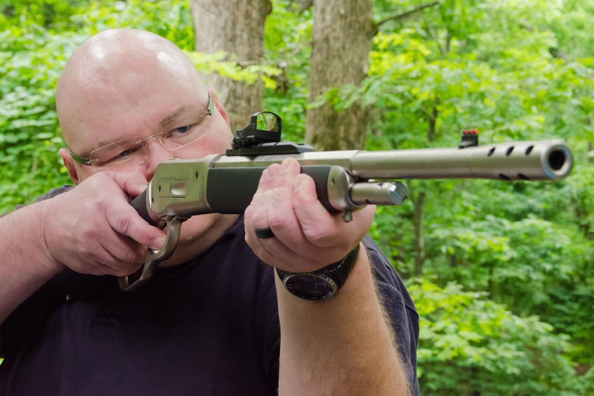 Taylor's & Co. .45-70 Ridge Runner Takedown Lever Gun
