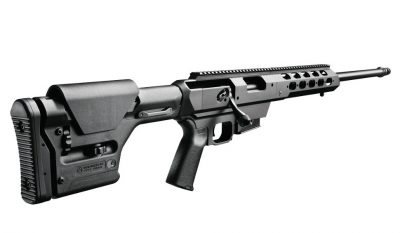 The author found that several stages favored the low-profile of a bolt-action rifle—unless equipped in a chassis. Image courtesy of Remington