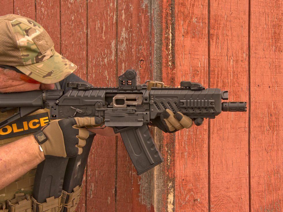 AK Pattern 10″ Entry Shotgun – The Fostech Origin-12 Takes Saiga Mags