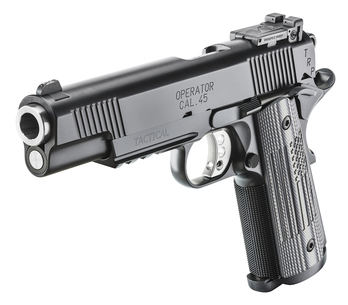 The pistol has all the features you would want (and expect) on a high-end 1911 pistol like this.