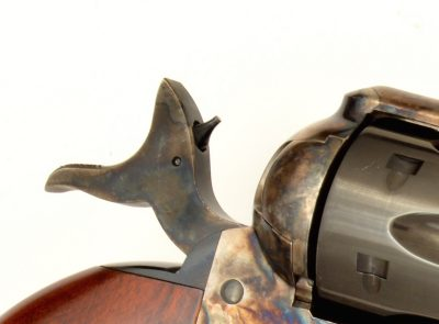 The heart of the innovation of the new Uberti Cattleman II is the firing pin system.