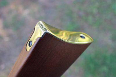 Brass buttplate.