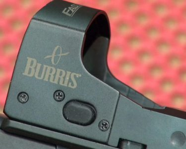 The Burris FastFire III optic mounted perfectly for the author.
