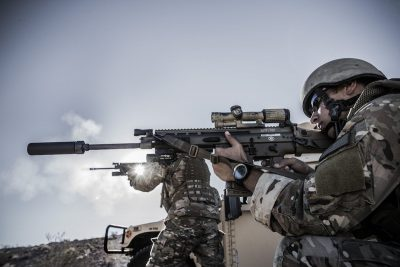 A variable optic like the Trijicon VCOG can extend a warfighter's range in a conflict.