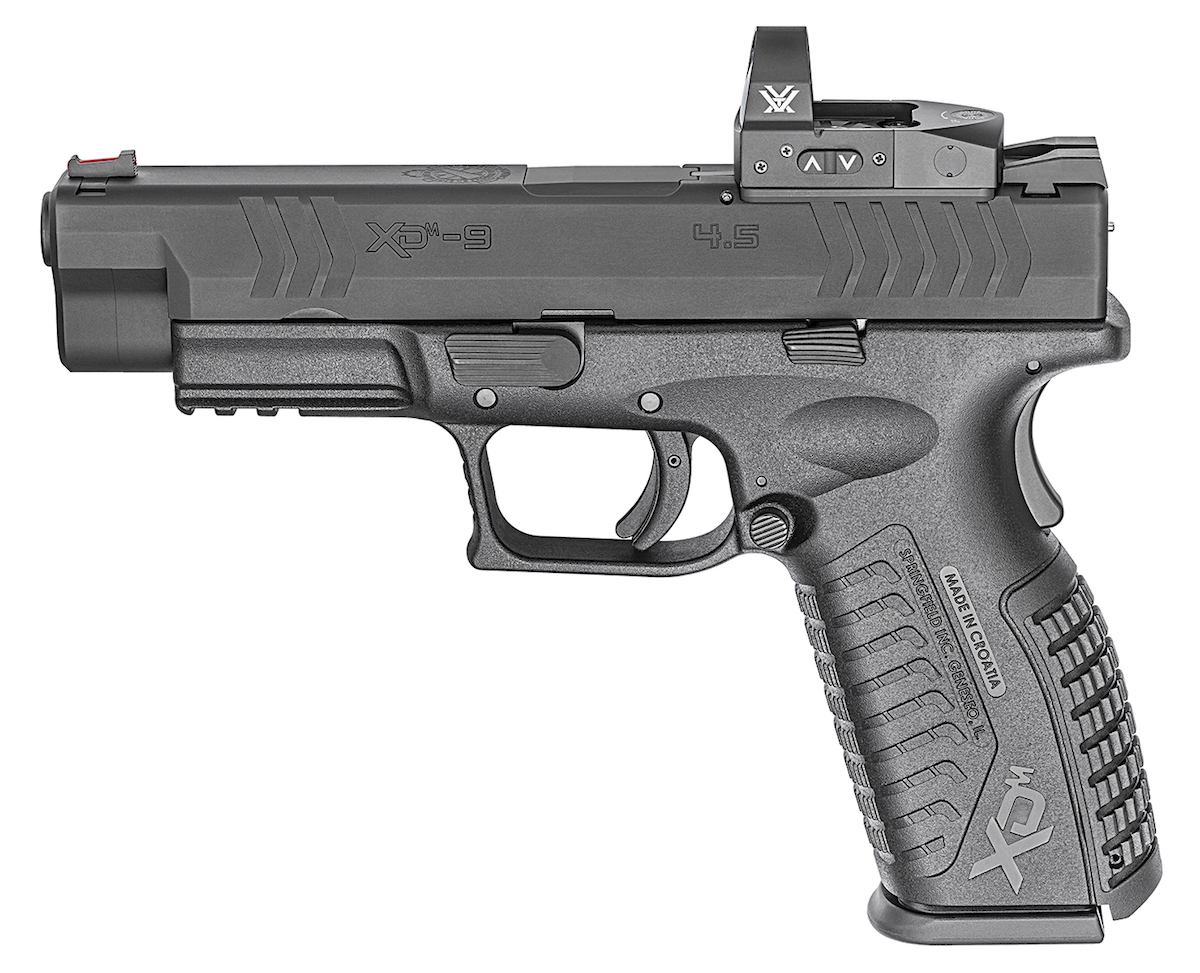 First Look! Springfield Armory XDM Optical Sight 9mm Pistol
